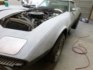 Vehicle Restoration: Before at Hamilton's Auto Body Shop in Bealeton Virginia