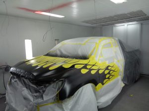Hamiltons Auto Body Shop Vehicle paint job: Custom Paint in Bealeton VA