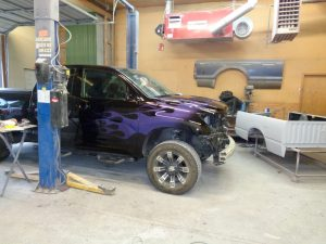 Hamiltons Auto Body custom vehicle paint in Fauquier County VA