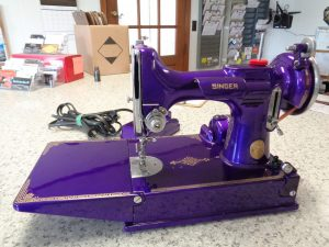 Singer Travel Sewing Machine with Auto Body Paint Job