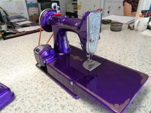 Singer Sewing Machine with Auto Body Paint Job